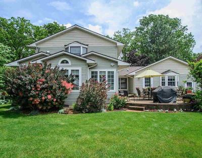 Washtenaw County Single Family Home Contingent - Financing: 3384 Maple Dr