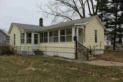 Jackson MI Single Family Home For Sale: $45,500