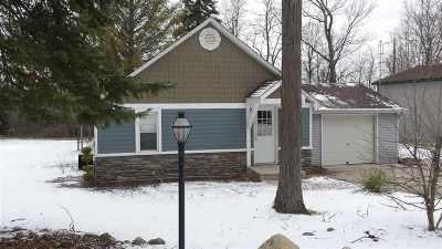 Brooklyn MI Single Family Home For Sale: $75,000