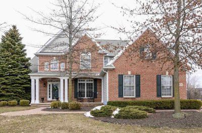 Washtenaw County Single Family Home Contingent - Financing: 6157 Gyers Meadow Ln
