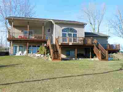 Cement City MI Single Family Home For Sale: $439,000