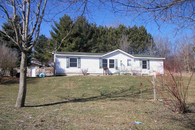 Montgomery MI Single Family Home For Sale: $89,000