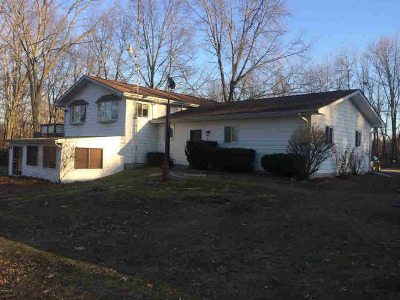 Litchfield MI Single Family Home For Sale: $209,000