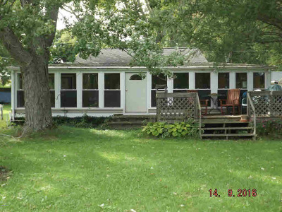 Reading MI Single Family Home For Sale: $84,000