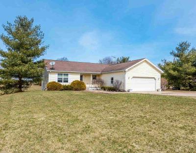 Washtenaw County Single Family Home Contingent - Financing: 16006 Black Sheep Ln