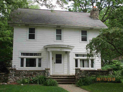 Albion Single Family Home For Sale: 402 N Mingo St