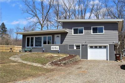 Single Family Home For Sale: 2251 Dearing Rd