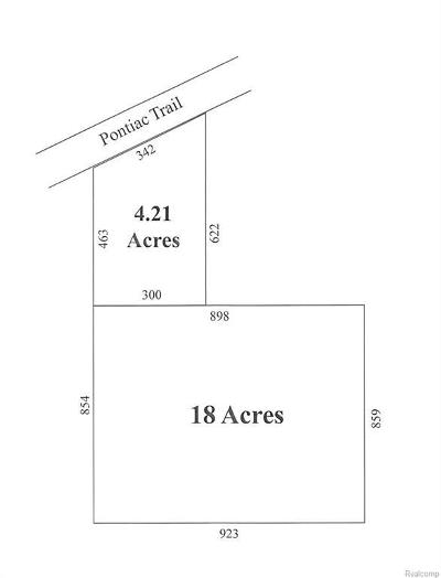 Ann Arbor Residential Lots & Land For Sale: 5236 Pontiac Trl
