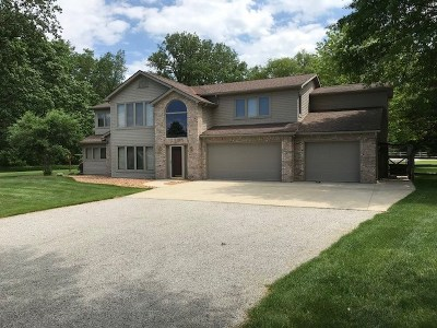 Jackson County, Lenawee County, Hillsdale County Single Family Home For Sale: 14534 Carroll Rd