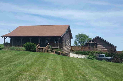 Grass Lake MI Single Family Home For Sale: $325,000