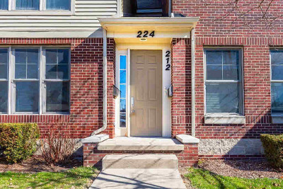 Washtenaw County Condo/Townhouse For Sale: 212 Snyder Ave