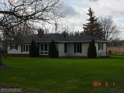 Hillsdale MI Single Family Home For Sale: $169,900