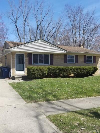 Washtenaw County Single Family Home For Sale: 251 N Larkspur St