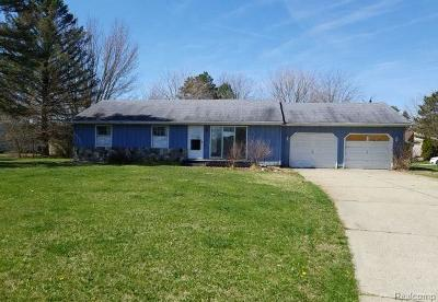 Single Family Home For Sale: 12890 W Greenfield Rd