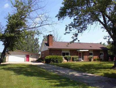 Washtenaw County Single Family Home For Sale: 7350 E Michigan Ave