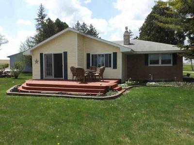 Reading MI Single Family Home For Sale: $194,900