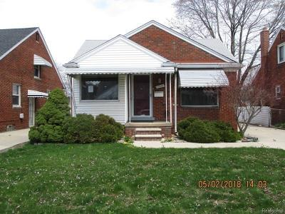 Single Family Home For Sale: 15544 Warwick Ave