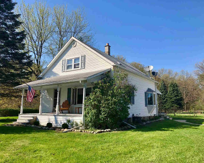 Chelsea Single Family Home For Sale: 18498 M-52 Hwy