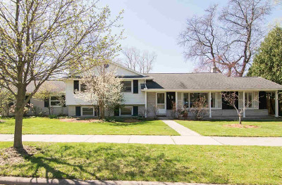 Washtenaw County Single Family Home Contingent - Financing: 611 Wembley Ct