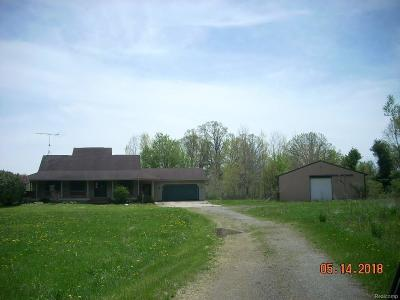 Single Family Home For Sale: 5646 Fleming Rd