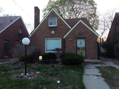 Single Family Home For Sale: 16869 Lesure St