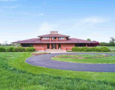 Washtenaw County Single Family Home For Sale: 2520 W Delhi Rd