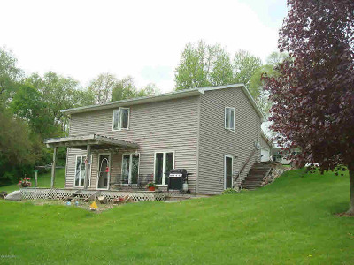 Hillsdale MI Single Family Home For Sale: $169,900