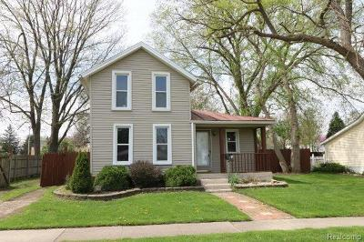 Single Family Home For Sale: 26227 Ypsilanti St