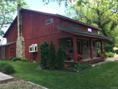 Single Family Home For Sale: 1604 Clark Lake Rd