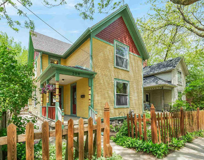 Washtenaw County Single Family Home Contingent - Financing: 209 Beakes St