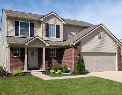Washtenaw County Single Family Home For Sale: 4243 Cloverlane Dr