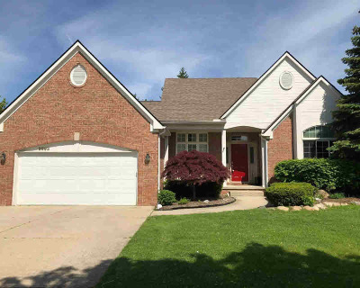 Washtenaw County Single Family Home For Sale: 2993 Appleridge Dr