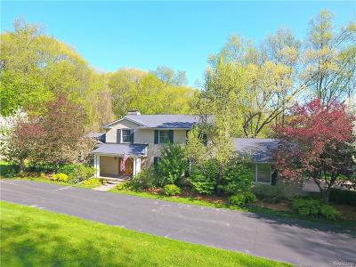 Milford Single Family Home For Sale: 3186 E Duana Dr E