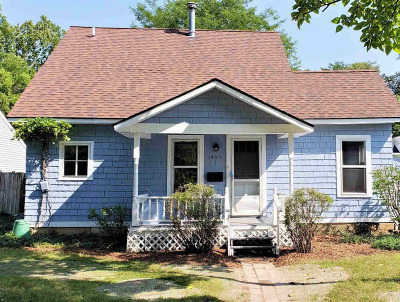 Ann Arbor Single Family Home For Sale: 1465 South Blvd
