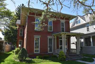 Lenawee County Single Family Home Contingent - Financing: 506 S Main St