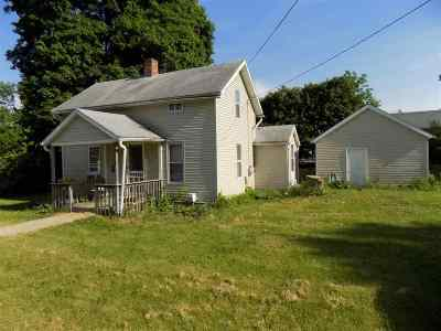 Lenawee County Single Family Home For Sale: 106 Muscody