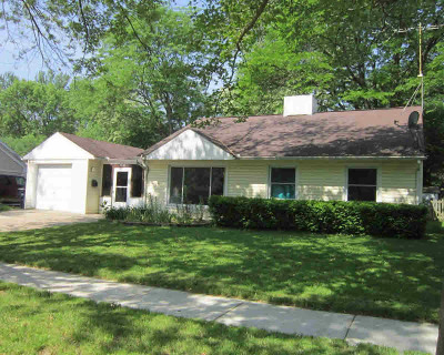 Ann Arbor Single Family Home Contingent - Financing: 2388 Yost Blvd