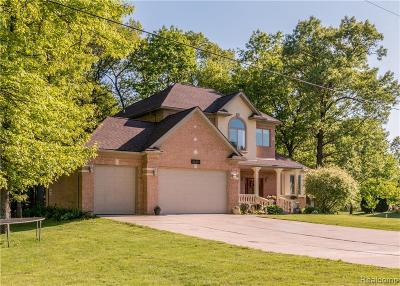 Belleville Single Family Home For Sale: 44473 Clay Rd