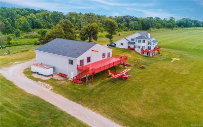 Webberville Single Family Home For Sale: 11088 W Coon Lake Rd
