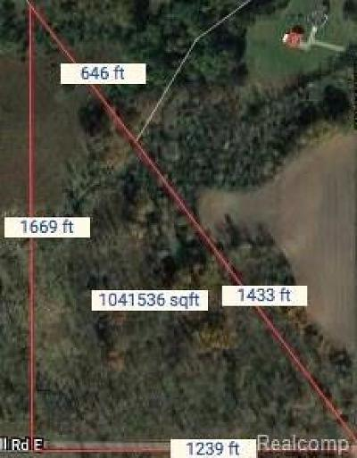 Jonesville MI Residential Lots & Land For Sale: $90,000