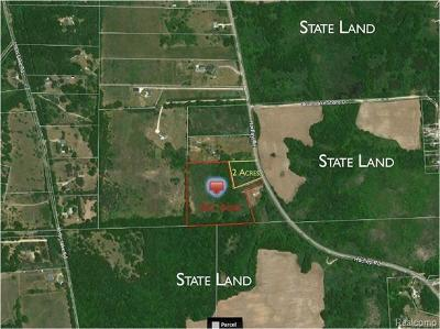 Gregory MI Residential Lots & Land For Sale: $149,900