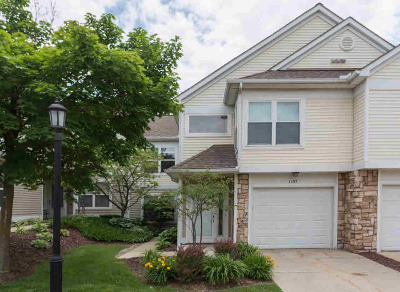 Ann Arbor Condo/Townhouse For Sale: 1597 Weatherstone Dr