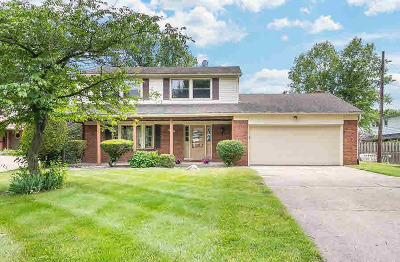Washtenaw County Single Family Home Contingent - Financing: 1529 Hanover Ct