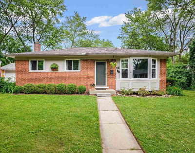 Ann Arbor Single Family Home For Sale: 1058 Hasper Dr