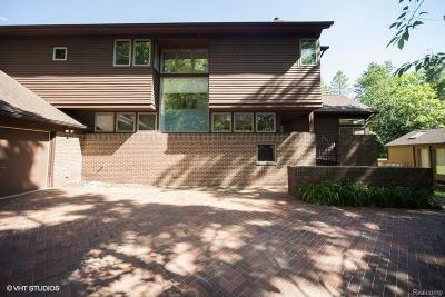 Ann Arbor Single Family Home For Sale: 835 Watershed