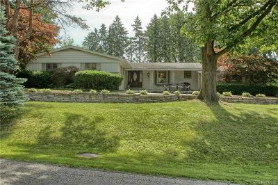 West Bloomfield Single Family Home For Sale: 2565 Ogden Dr