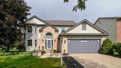 Washtenaw County Single Family Home For Sale: 4025 Rolling Meadow Ln