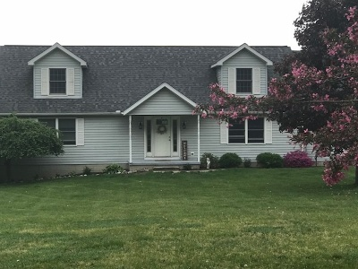 Tecumseh MI Single Family Home For Sale: $324,900