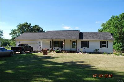Stockbridge Single Family Home For Sale: 3899 Milner Rd