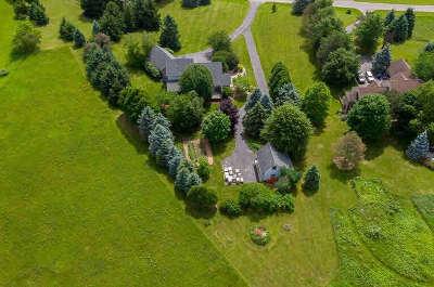 Dexter Single Family Home Contingent - Financing: 8819 Webster Hills Rd